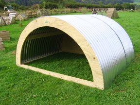 SHEEP GOAT SHELTER Open Fronted Self Assembly Skids Provided
