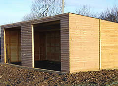 Field Shelters, Garages, Kennels